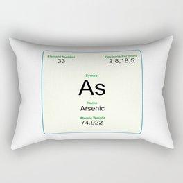 33 Arsenic Rectangular Pillow