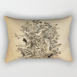 Blooming Flight Rectangular Pillow