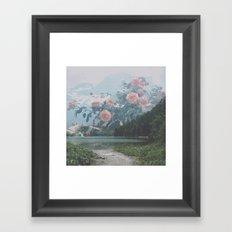Blossom Bank Framed Art Print