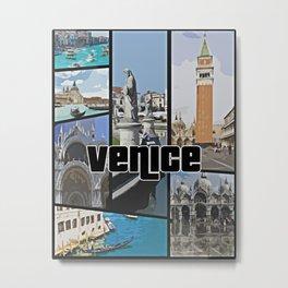Venice Italy Metal Print