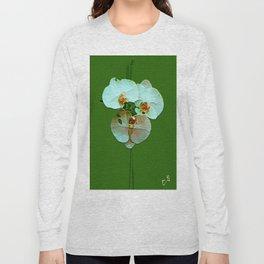 """ Phalaenopsis "" Long Sleeve T-shirt"