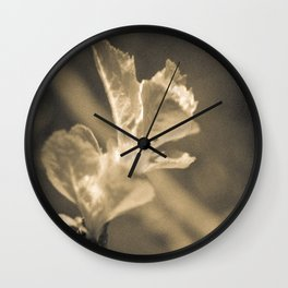 Trace of Spring Wall Clock