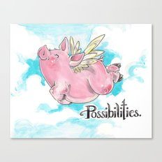 Possibilities  Canvas Print