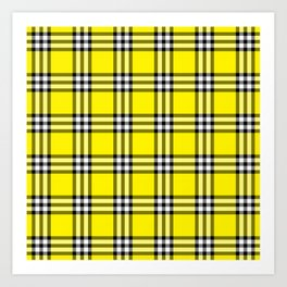 As If Plaid Art Print