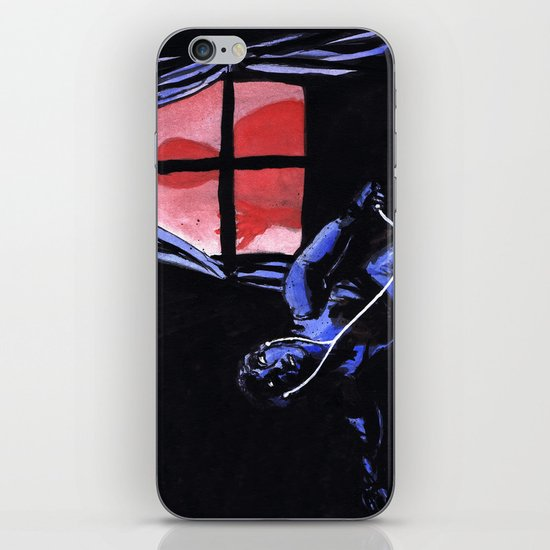 """Scariest Listening Experiences"" by Cap Blackard iPhone & iPod Skin"