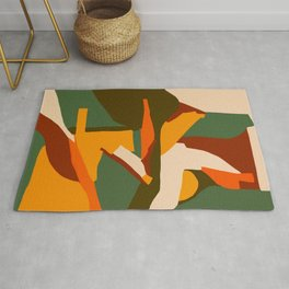 A New Way Of Seeing Abstract Landscape Rug