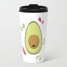 Happy Avocado Travel Mug