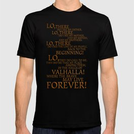 Viking Prayer T-shirt