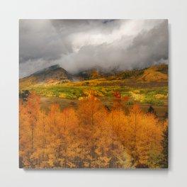 Colorado Fall Colors Metal Print