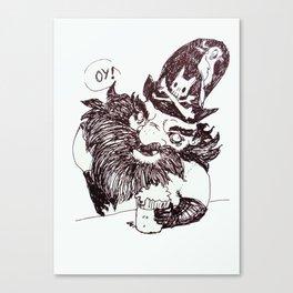 Blackbeard Canvas Print