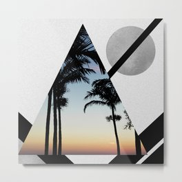 Tropical Summers Metal Print