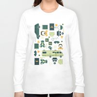 breaking Long Sleeve T-shirts featuring Breaking Bad by Tracie Andrews