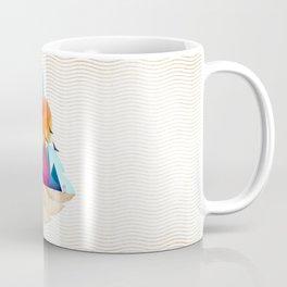 073 - Autumn leaf minimal landscape I Coffee Mug