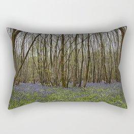 Bluebells at Kings Wood Rectangular Pillow