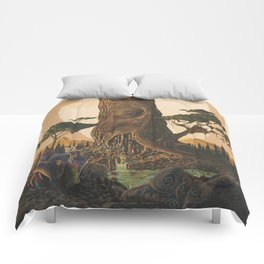 The Ancient Heart Tree Comforters