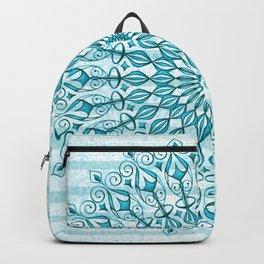 Stripped Mandala Backpack