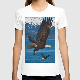 Bald Eagles Soaring T-shirt
