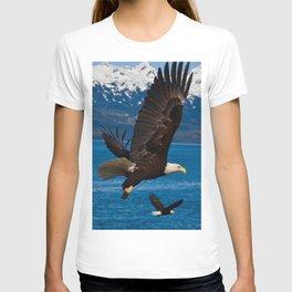 Bald Eagles Soaring T-shirt