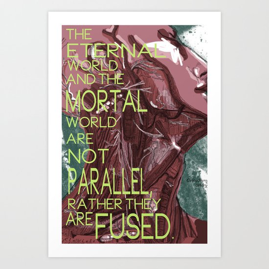 Mortal/Eternal Art Print