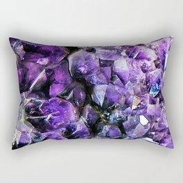 Amethyst Geode Rectangular Pillow