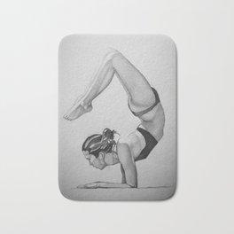 yoga pose 2 Bath Mat