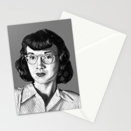 Vintage Photo Booth Babe #1 Stationery Cards