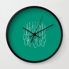 Cascading Water - Minimal FS - by Friztin Wall Clock