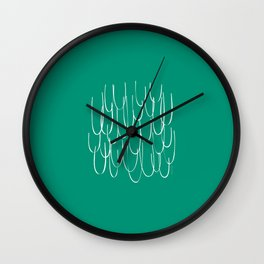 Cascading Water - Minimal FS - by Friztin Wall Clock