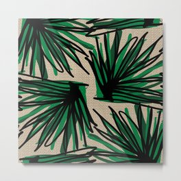 Beautiful Weaving Grass Metal Print