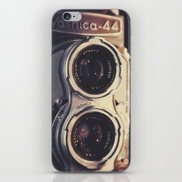 Yashica-44 TLR iPhone Skin