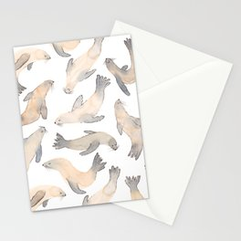 My Lips Are Seals Stationery Cards