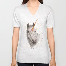 Unicorn V Unisex V-Neck
