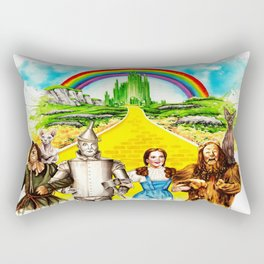 Sphynx goes to OZ Rectangular Pillow