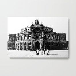 Semperoper Dresden Metal Print