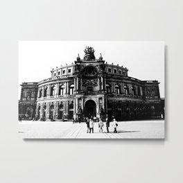 Semperoper Dresden Metal Print