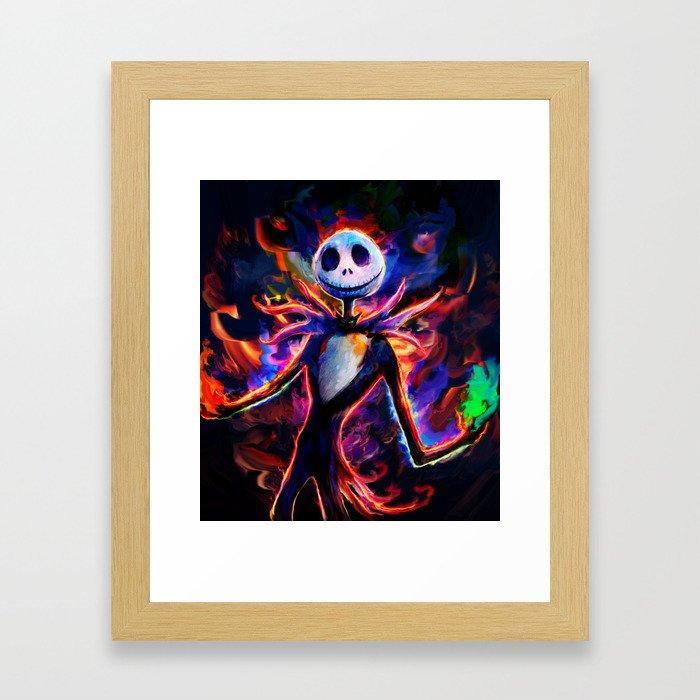 nightmare before christmas 2 Framed Art Print