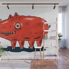 Haifa Pig Wall Mural
