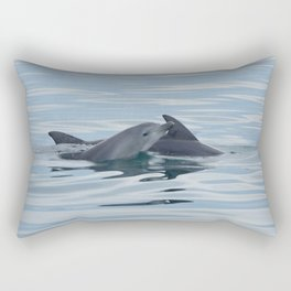 Baby Bottlenose Dolphin Rectangular Pillow