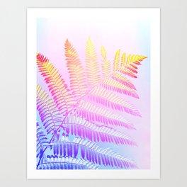 Hello Candy Fern! #foliage #homedecor #lifestyle Art Print