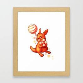Lolliroo Framed Art Print