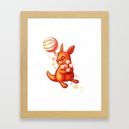 Lolliroo Framed Art Print