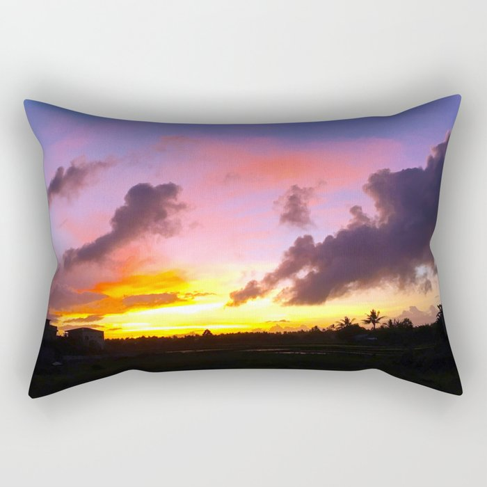 A Sight So Extraordinary Rectangular Pillow