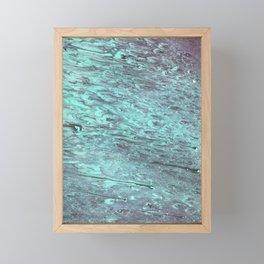 Methane Waves Framed Mini Art Print