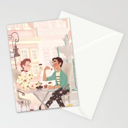 Coffee Date Stationery Cards