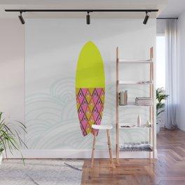 Laniakea  |  surfboard series Wall Mural