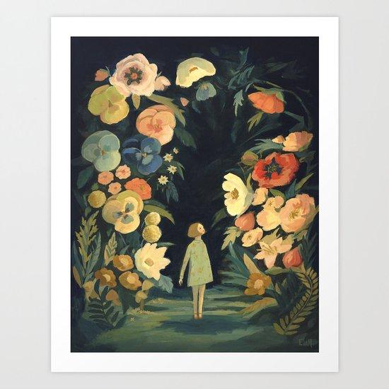 The Night Garden by emilywinfieldmartinart