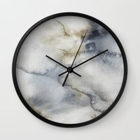 sand Wall Clocks featuring Sand by Living Out Loud Design