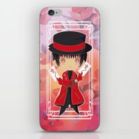 subaru iPhone & iPod Skins featuring Chibi Subaru Sumeragi by Neo Crystal Tokyo