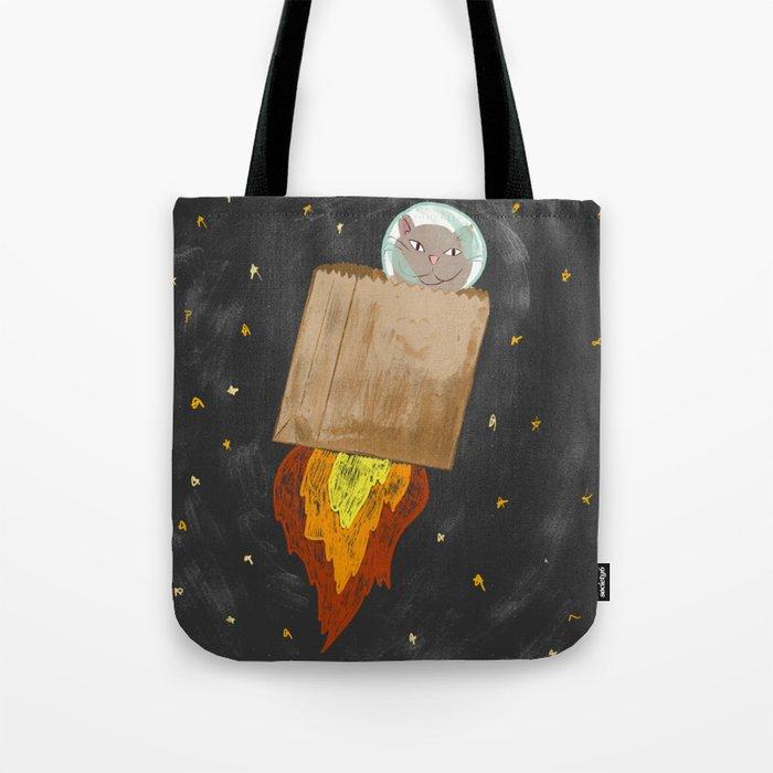 Astro-cat Tote Bag