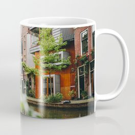 Photo of Typical Dutch Canal Houses in Utrecht, Holland/The Netherlands | Fine Art Colorful Travel Photography |  Coffee Mug